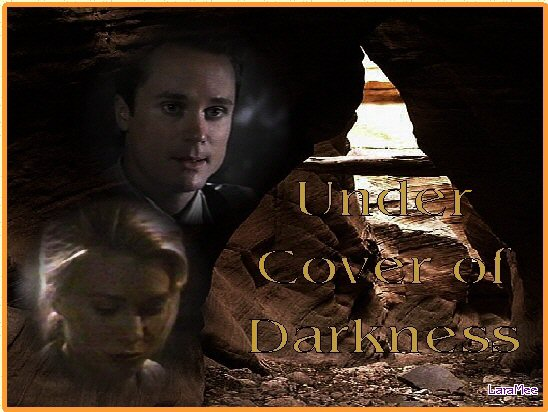 Under Cover Of Darkness by Luna Dey, graphic by LaraMee