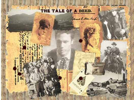 The Tale Of A Deed, graphic by Auburn