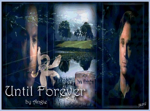 Until Forever, by Angie. Graphic by JKay