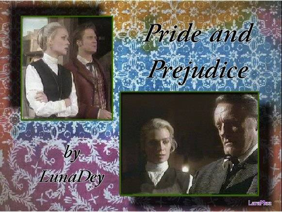 Pride And Prejudice by Luna Dey, graphic by LaraMee