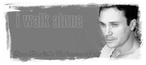 I Walk Alone, by Kayim. Graphic by Kayim